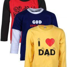 Boys' Full Sleeve T-Shirts